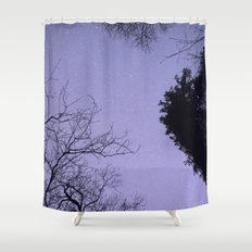 A Starry Night Shower Curtain