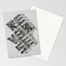 Stuck in Reverse Stationery Cards