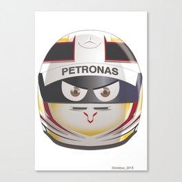 Lewis HAMILTON_2015_Helmet #44 Canvas Print