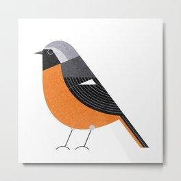 bird art birds cute drawing yellow 2018 Metal Print