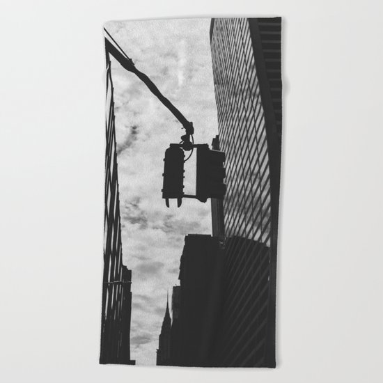 City Streets Beach Towel