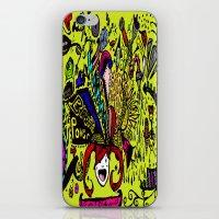 brain iPhone & iPod Skins featuring Brain by Art Corner