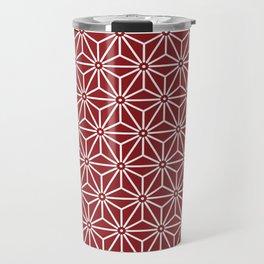 Japanese Yukata Jinbei Asanoha shinshu Travel Mug