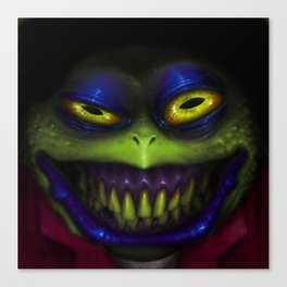 Stinky Toad Canvas Print
