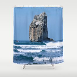 Witches Rock * Costa Rica Shower Curtain