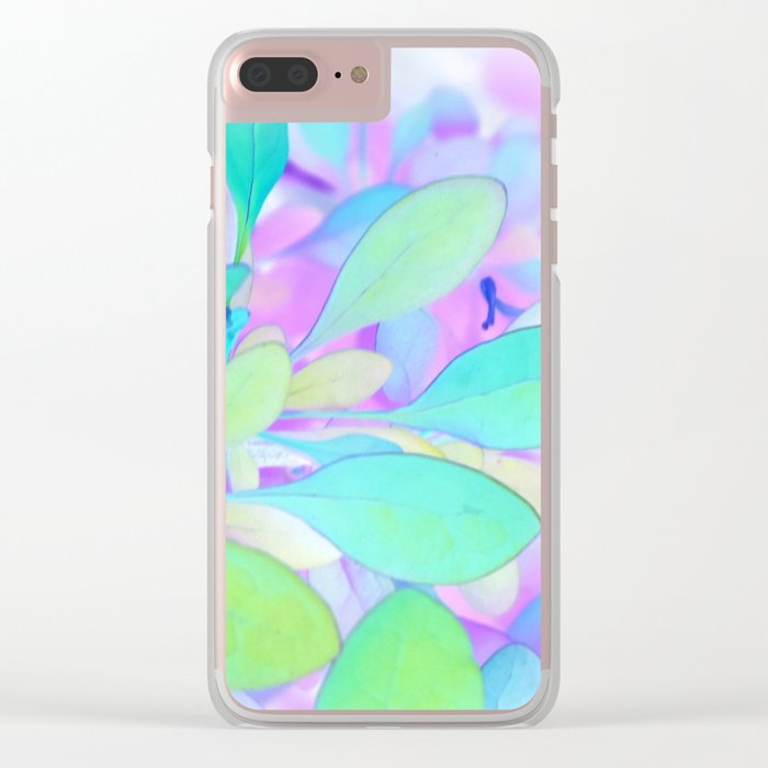 Flower   Flowers   Leaves   Faerie Spring Clear iPhone Case