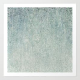 Ice crystals background. Abstract winter background. Art Print