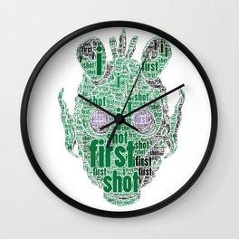 The real dark side - Greedo - I shot first Wall Clock