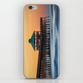 Folly Pier Sunrise iPhone Skin