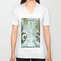 tiffany V-neck T-shirts featuring tiffany lake by Ariadne