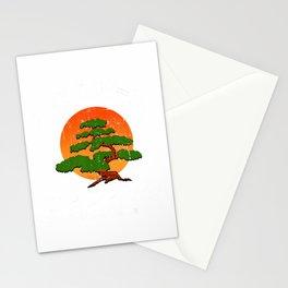 Miyagi-Do Karate Fight Funny Karate Live Vintage Bonsai Tree T-Shirt Stationery Cards