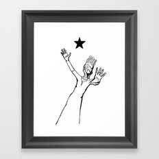 Lazarus 3 - Bowie Blackstar tribute Framed Art Print