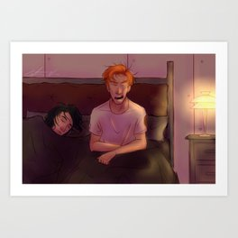 Lazy Morning Art Print