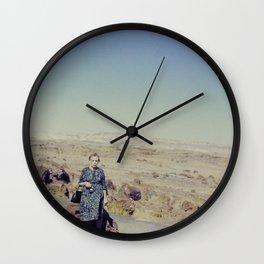Desert Grandma Wall Clock