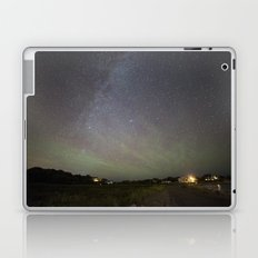 Airglow and the Milkyway at Pebble Beach Laptop & iPad Skin