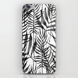 Black Tropics iPhone Skin