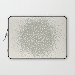 butterflies flying in a circle scatter in different directions. pastel Laptop Sleeve