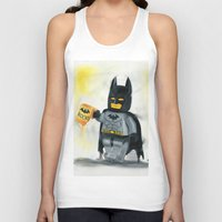 superhero Tank Tops featuring Lego Superhero by Toys 'R' Art