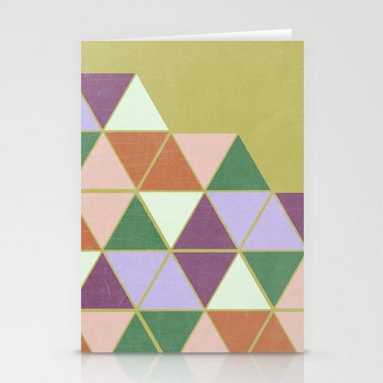 Hexaflexagon Stationery Cards