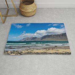 Famara Beach, Lanzarote Rug