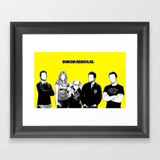 It's Always Sunny Framed Art Print