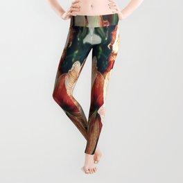 Amaryllis Leggings
