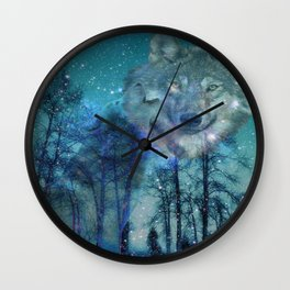 The Wild is Calling Wall Clock