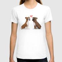 custom T-shirts featuring Custom Boxers by Cassandra Berger
