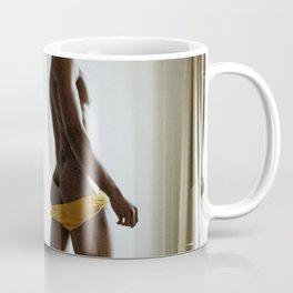 bare butt on sofa Coffee Mug