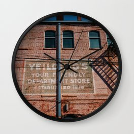 Alabama Architecture V Wall Clock