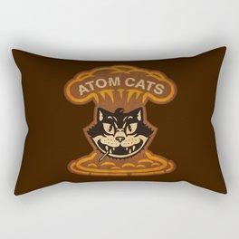 Atom Cats Rectangular Pillow