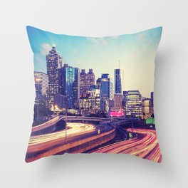 Atlanta Downtown Throw Pillow