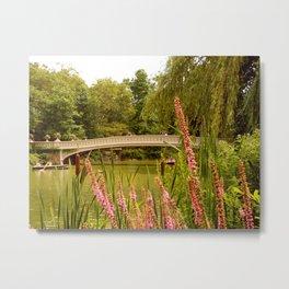 Beau Bow Bridge (Central Park, New York) Metal Print