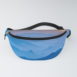 Mountains 11 Fanny Pack