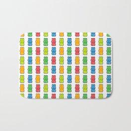 Rainbow Gummy Bears Bath Mat