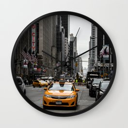 5th Ave., NYC Wall Clock