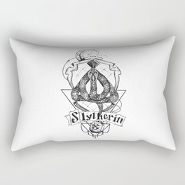 The Cunning House of Slytherin Rectangular Pillow