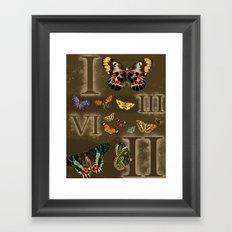 Let's Count Butterflies Framed Art Print
