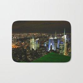 New York Skyline Bath Mat