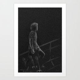 Harry Styles III Art Print