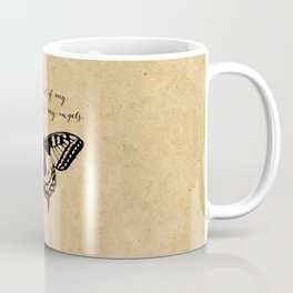 Tennessee Williams - Demons and Angels - Quote Coffee Mug