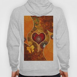 Steampunk, wonderful steam heart Hoody