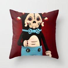 Bad Petryck Throw Pillow
