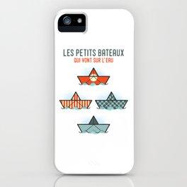 Les Petits Bateaux - Nautical Flags Edition iPhone Case