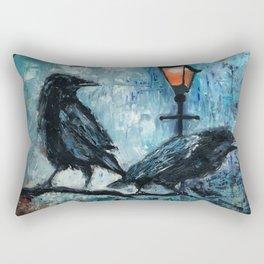 2 Ravens Rectangular Pillow