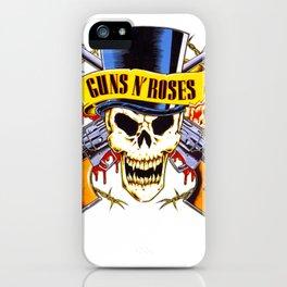 Gun N Roses Logo iPhone Case