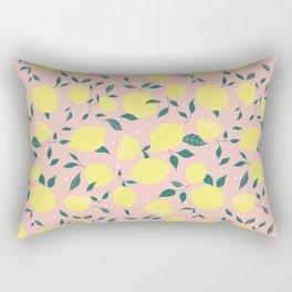 Squeeze a Lemon Rectangular Pillow