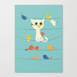 Birdwatching Canvas Print