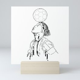 Ronaldo de Assis Moreira Mini Art Print