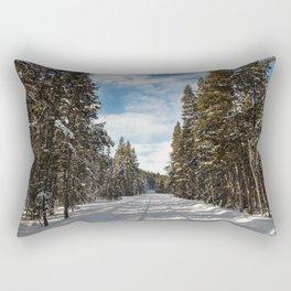 Yellowstone National Park - Grand Loop Road Rectangular Pillow